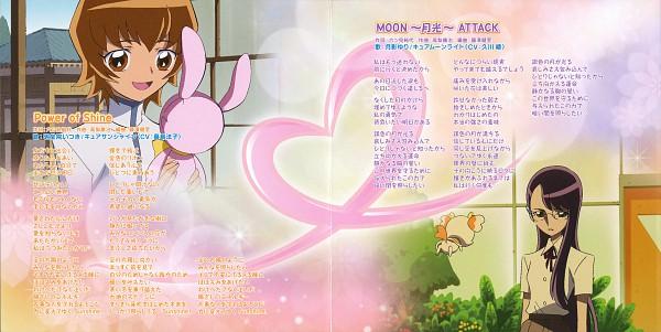 Tags: Anime, Heartcatch Precure!, Potpourri, Myoudouin Itsuki, Tsukikage Yuri, Wallpaper, CD (Source), Official Art, Scan