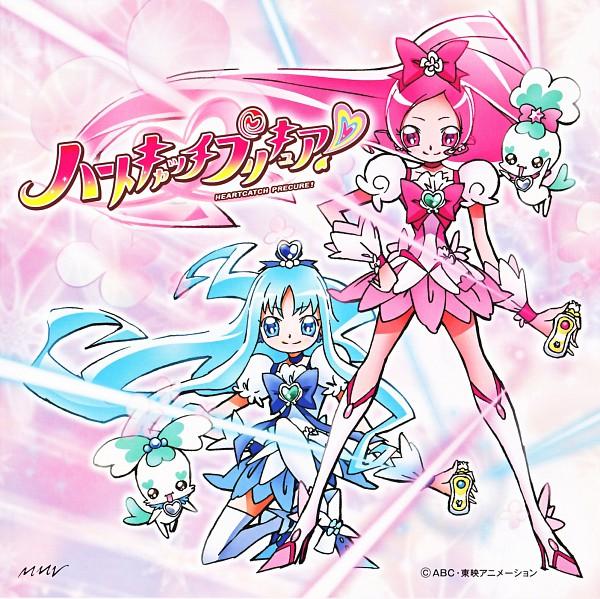 Tags: Anime, Umakoshi Yoshihiko, Marvelous Entertainment, Heartcatch Precure!, Coffret, Cure Marine, Shypre, Hanasaki Tsubomi, Kurumi Erika, Cure Blossom, CD (Source), Official Art