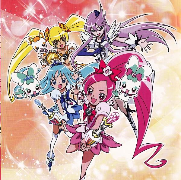 Tags: Anime, Umakoshi Yoshihiko, Marvelous Entertainment, Heartcatch Precure!, Kurumi Erika, Tsukikage Yuri, Cure Moonlight, Cure Blossom, Potpourri, Coffret, Cure Marine, Myoudouin Itsuki, Shypre