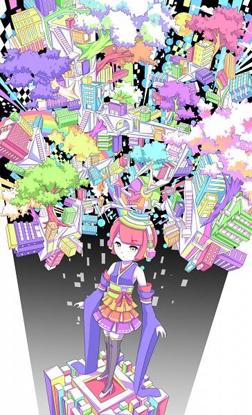 Tags: Anime, Hebitsukai, Pixiv, Original