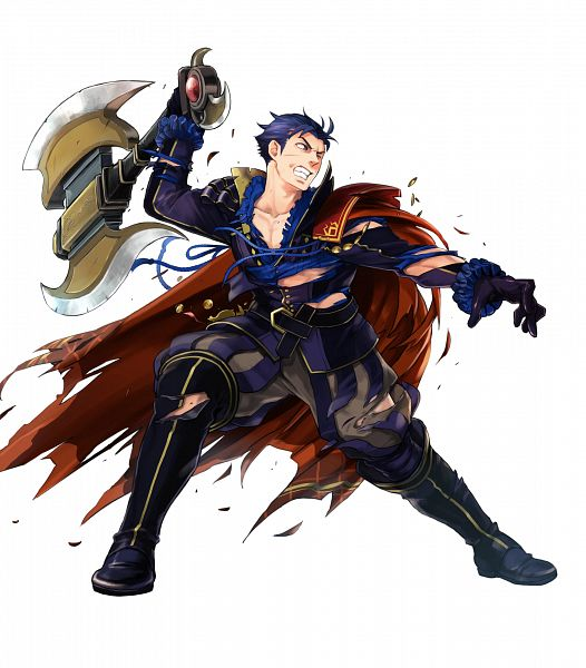 Tags: Anime, Suekane Kumiko, Intelligent Systems, Fire Emblem Heroes, Hector (Fire Emblem), Official Art