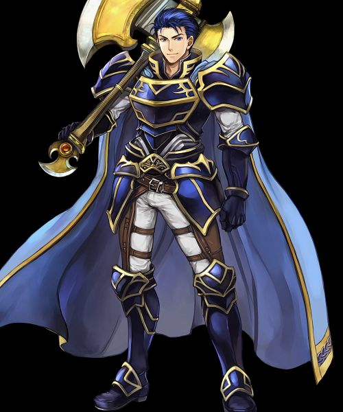 Tags: Anime, Wada Sachiko, Intelligent Systems, Fire Emblem Heroes, Hector (Fire Emblem), Official Art