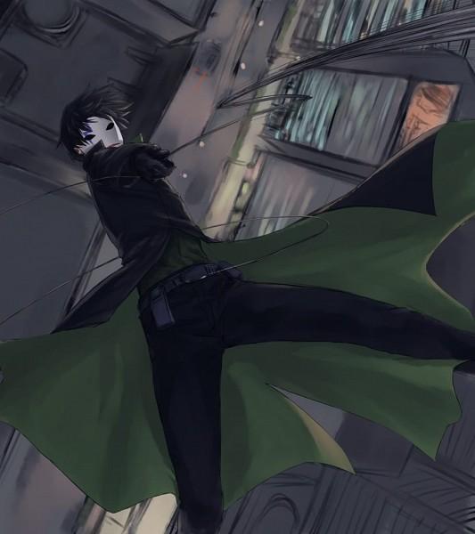 Tags: Anime, Hinomoto Madoka, Darker than Black, Hei