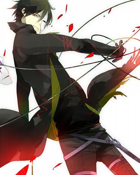 Tags: Anime, Jiku (0128hirosi), Darker than Black, Hei, Pixiv, Fanart, PNG Conversion