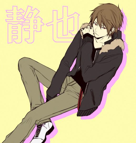 Tags: Anime, Pasta69, DURARARA!!, Heiwajima Shizuo, Pixiv, PNG Conversion, Fanart, Translated