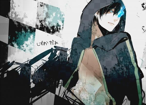 Tags: Anime, Huzakenna, DURARARA!!, Heiwajima Shizuo, Black★Rock Shooter (Cosplay), Sketch