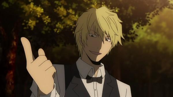 Tags: Anime, Brains Base (Studio), DURARARA!!, Heiwajima Shizuo, Screenshot