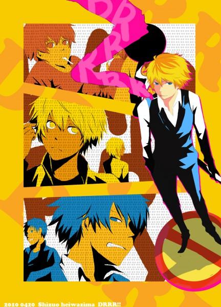 Tags: Anime, Pixiv Id 1555571, DURARARA!!, Heiwajima Shizuo, Fanart, Pixiv
