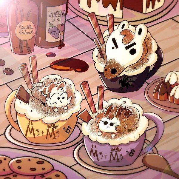 Tags: Anime, Simply Moxxie, Helluva Boss, Instagram