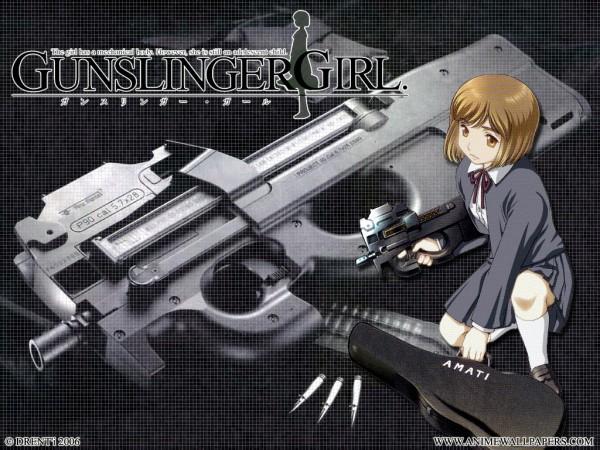 Tags: Anime, Abe Hisashi, Gunslinger Girl, Henrietta (Gunslinger Girl), Wallpaper