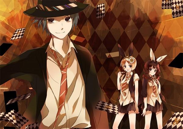Tags: Anime, Hensoku Souichi, Usa (Nico Nico Singer), Tourai, Yamai (Nico Nico Singer), Pixiv, Nico Nico Singer