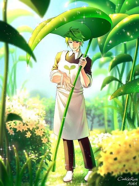 Tags: Anime, Pixiv Id 23036785, Cookie Run, Herb Cookie, Raindrop (Symbol), Pixiv, Fanart, Fanart From Pixiv
