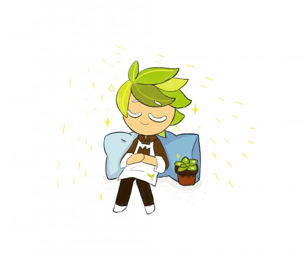 Tags: Anime, Tkrhdtk9874, Cookie Run, Herb Cookie, Potted Plant, Fanart, Twitter