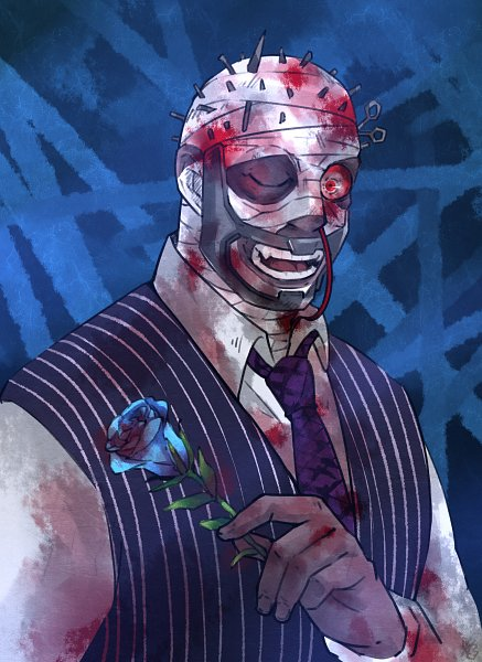 Tags: Anime, Pixiv Id 6663329, Dead by Daylight, Herman Carter, Fanart From Pixiv, Pixiv, Fanart, Carter Herman