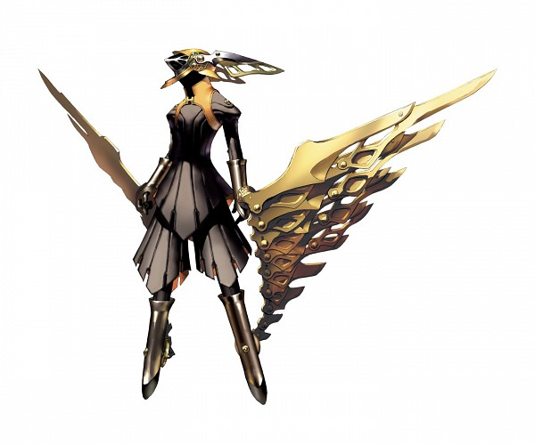 Tags: Anime, Hermes (Persona), Official Art