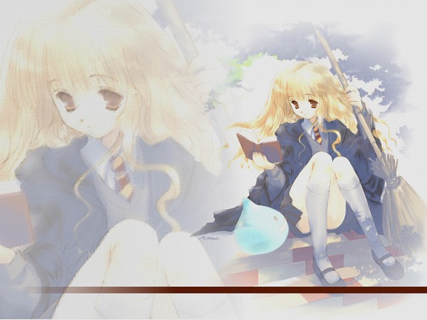 Tags: Anime, Harry Potter, Hermione Granger, Wallpaper, Gryffindor House