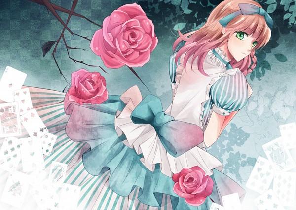 Tags: Anime, Pixiv Id 2119158, AMNESIA, Heroine (AMNESIA), Alice in Wonderland (Parody), Pixiv