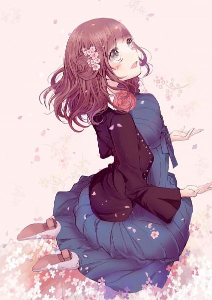 Tags: Anime, Pixiv Id 5892469, AMNESIA, Heroine (AMNESIA), Fanart From Pixiv, Mobile Wallpaper, Pixiv, Fanart