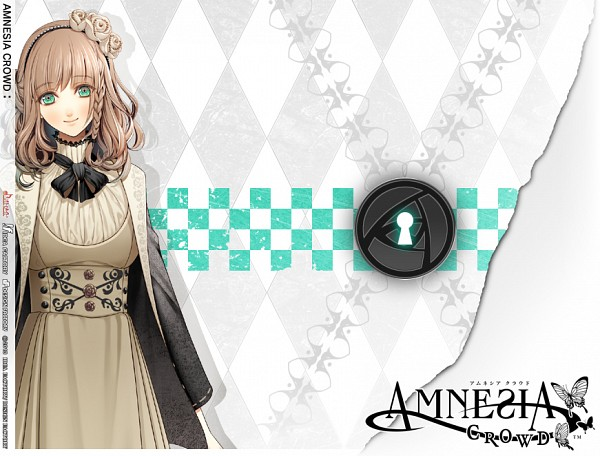 Tags: Anime, IDEA FACTORY, AMNESIA, Heroine (AMNESIA), Keyhole, Official Art, Official Wallpaper