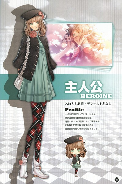 Tags: Anime, Hanamura Mai, IDEA FACTORY, AMNESIA, Heroine (AMNESIA), Argyle Legwear, Scan, Character Profile, Mobile Wallpaper, Official Art, Official Character Information