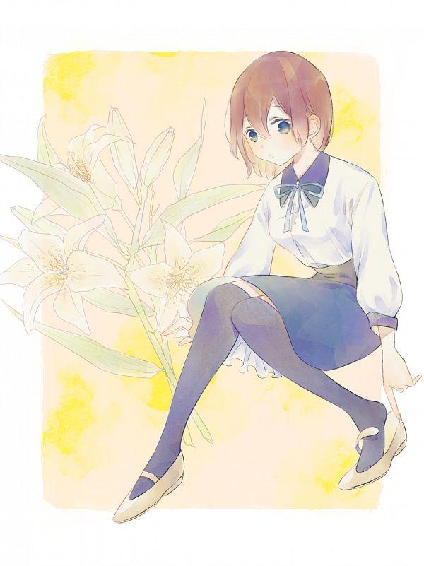 Tags: Anime, Pixiv Id 1154414, Yume Oukoku to Nemureru 100-nin no Ouji-sama, Heroine (Yume-100), White Lily, Fanart From Pixiv, Pixiv, Fanart