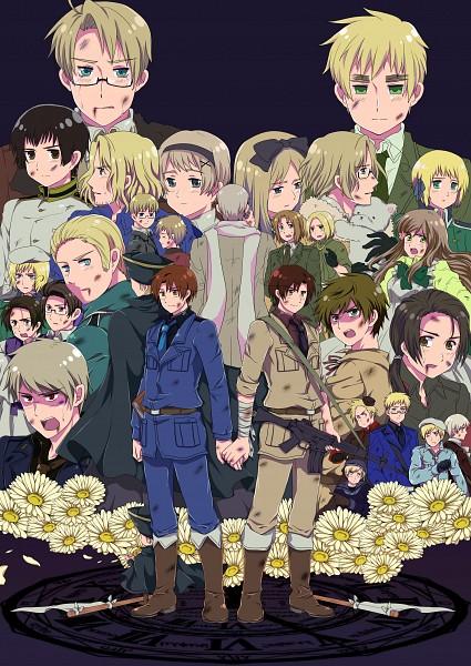 Tags: Anime, Nanami Ruri, Axis Powers: Hetalia, Hetaoni, Belarus, Latvia, Finland, Prussia, Austria, Norway, Switzerland, Lithuania, Sweden