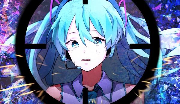 Tags: Anime, Pixiv Id 12471587, VOCALOID, Hatsune Miku, Pixiv, Hibana (Song), DECO*27, Fanart, Fanart From Pixiv