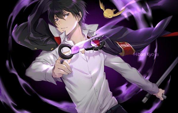 Tags: Anime, Ekita_Kuro, Katekyo Hitman REBORN!, Hibird, Hibari Kyoya, Pixiv