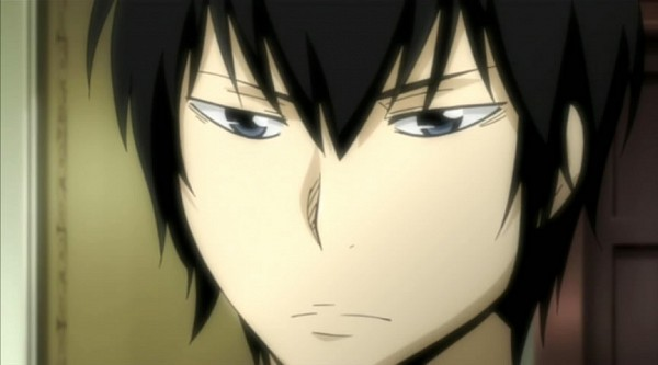 Tags: Anime, Katekyo Hitman REBORN!, Hibari Kyoya, Screenshot