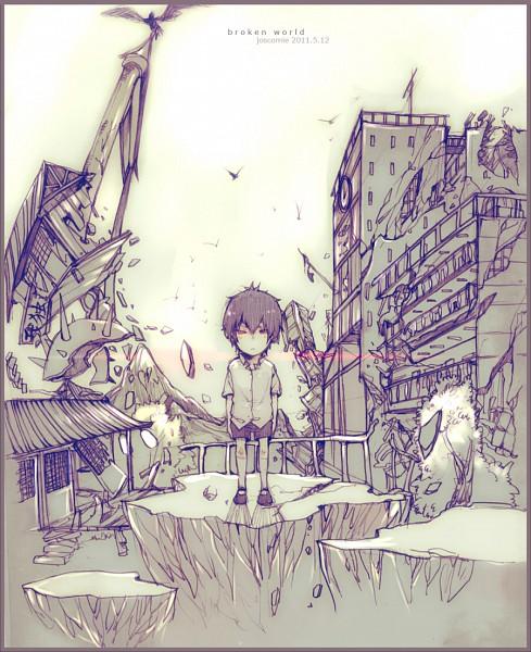 Tags: Anime, Josco, Katekyo Hitman REBORN!, Hibari Kyoya, Fanart, Pixiv
