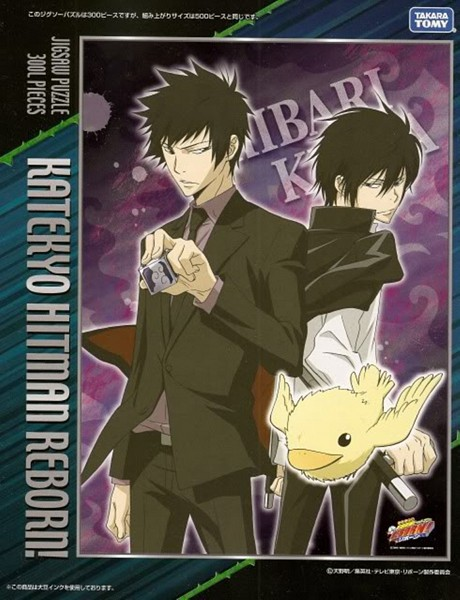 Tags: Anime, Tanaka Masayoshi, Katekyo Hitman REBORN!, Hibari Kyoya, Hibird, Official Art