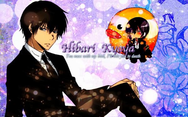 Tags: Anime, Dagwenlautner, Katekyo Hitman REBORN!, Hibari Kyoya, Hibird