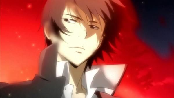 Tags: Anime, Tanaka Masayoshi, Katekyo Hitman REBORN!, Hibari Kyoya, Screenshot