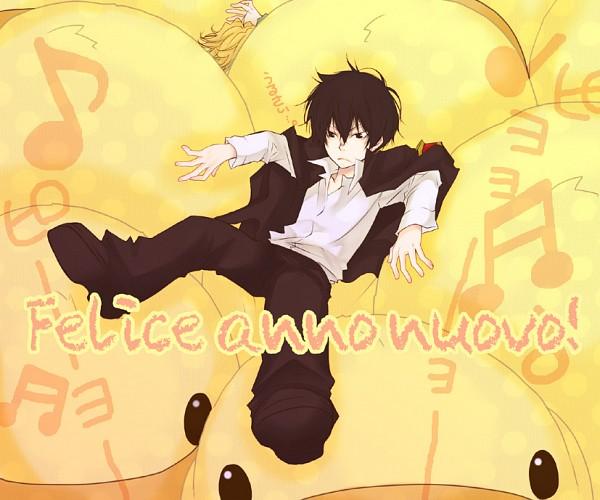 Tags: Anime, Lion Punch, Katekyo Hitman REBORN!, Hibird, Sawada Tsunayoshi, Dino Cavallone, Hibari Kyoya, Italian Text, Pixiv, Fanart