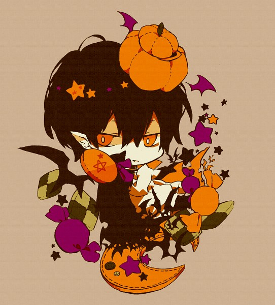 Tags: Anime, Koura Higure, Monster Tamer Tsuna, Katekyo Hitman REBORN!, Hibarin, Hibari Kyoya, Fanart, Pixiv