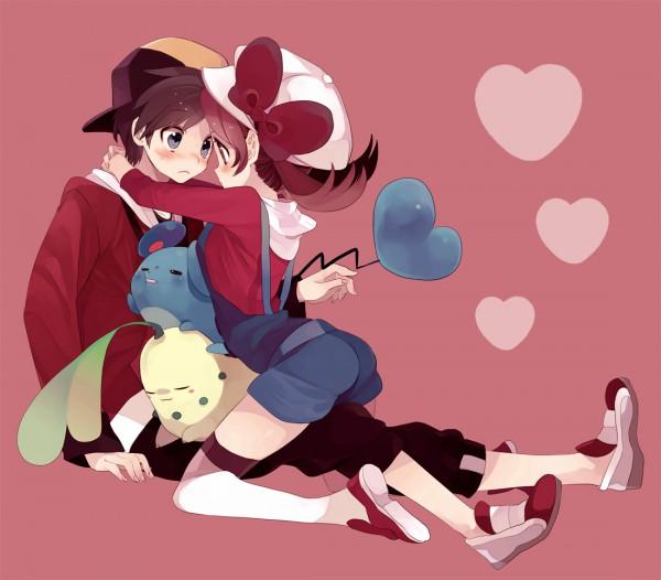 Tags: Anime, Amezawa Koma, Pokémon Gold & Silver, Pokémon, Marill, Kotone (Pokémon), Hibiki (Pokémon), Chikorita, Pixiv, Fanart, Fanart From Pixiv, HibiKoto