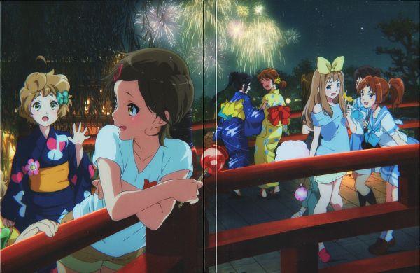 Tags: Anime, Ikeda Shouko, Kyoto Animation, Hibike! Euphonium, Kawashima Sapphire, Yoshikawa Yuuko, Katou Hazuki, Nakagawa Natsuki, Oumae Kumiko, Tanaka Asuka, Kousaka Reina, Official Art, Scan, Sound! Euphonium