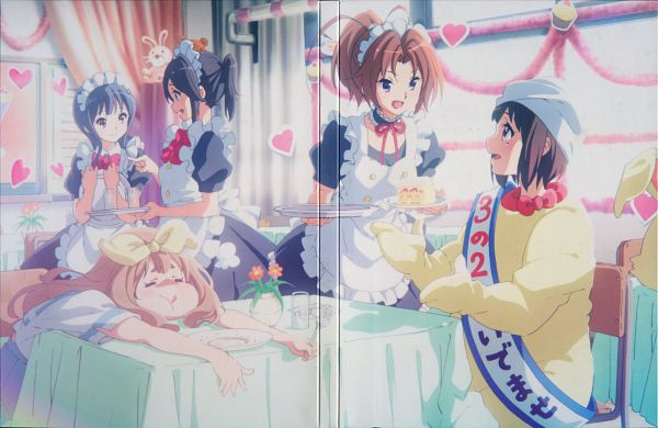 Tags: Anime, Ikeda Shouko, Kyoto Animation, Hibike! Euphonium, Yoroizuka Mizore, Yoshikawa Yuuko, Nakagawa Natsuki, Nakaseko Kaori, Kasaki Nozomi, DVD (Source), Official Art, Scan, Sound! Euphonium