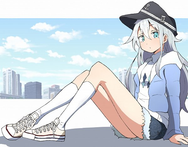 Tags: Anime, Pixiv Id 7193999, Kantai Collection, Hibiki (Kantai Collection), Fanart From Pixiv, Pixiv, Fanart