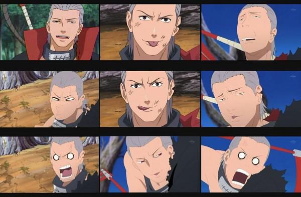 Tags: Anime, NARUTO, Hidan, Puckering Lips, Screenshot, Akatsuki (NARUTO)