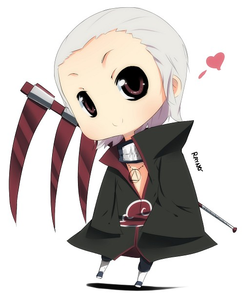 Tags: Anime, Rayn3r, NARUTO, Hidan, Fanart, Akatsuki (NARUTO)