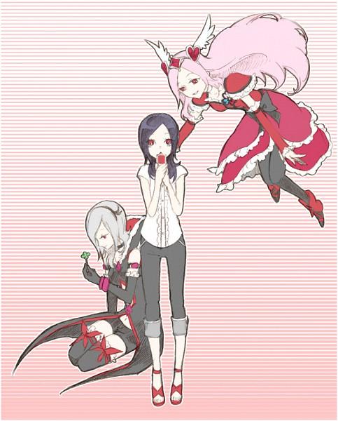 Tags: Anime, Chiyo (Rotsurechiriha), Fresh Precure!, Eas, Cure Passion, Higashi Setsuna, Fanart, Pixiv, Fanart From Pixiv