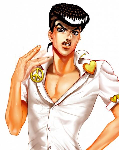 Tags: Anime, JoJo no Kimyou na Bouken, Diamond Is Unbreakable, Higashikata Jousuke