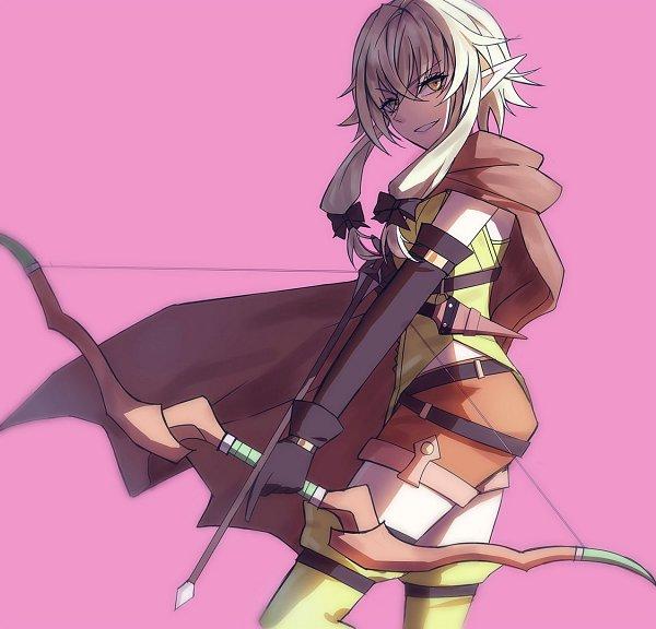 Tags: Anime, Pixiv Id 3491116, Goblin Slayer, High Elf Archer, Fanart From Pixiv, Pixiv, Fanart
