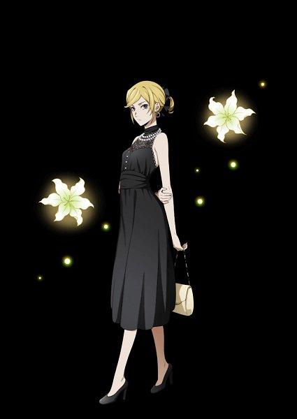 Tags: Anime, Ambition, Bungou Stray Dogs, Bungou Stray Dogs: Mayoi Inu Kaikitan, Higuchi Ichiyou, Handbag, Official Card Illustration, Official Art