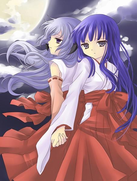 Tags: Anime, Hanabana Tsubomi, 07th Expansion, Higurashi no Naku Koro ni Kai, Higurashi no Naku Koro ni, Furude Hanyuu, Furude Rika, Fanart From Pixiv, Fanart, Pixiv, When They Cry