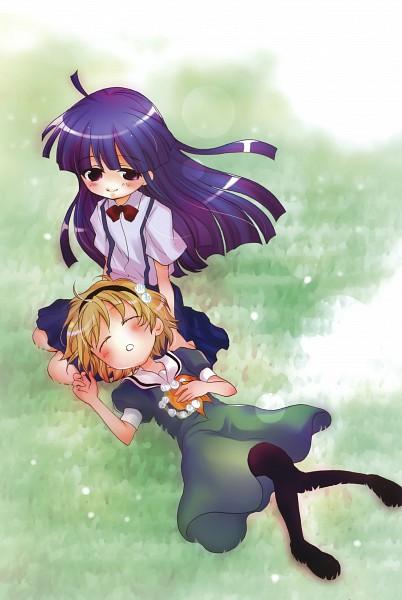 Tags: Anime, Suzuki Jirou, 07th Expansion, Higurashi no Naku Koro ni, Furude Rika, Houjou Satoko, When They Cry