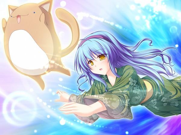 Tags: Anime, Tenmaso, Suzukaze no Melt, Hiiragi Tsukino, Wallpaper