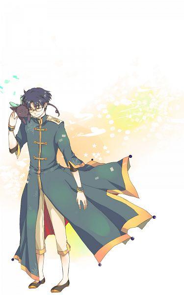 Tags: Anime, Pixiv Id 1573031, Cardcaptor Sakura, Hiiragizawa Eriol, Spinel Sun, Pixiv, Mobile Wallpaper, Fanart