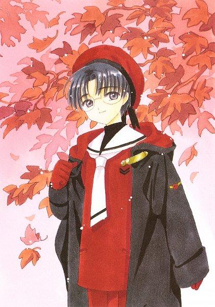 Tags: Anime, CLAMP, Cardcaptor Sakura, Cardcaptor Sakura Illustrations Collection 2, Hiiragizawa Eriol, Official Art, Scan, Mobile Wallpaper